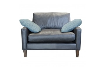 Hoxton Snuggle Leather Chair