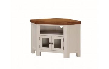 Henley Painted Oak Corner TV Unit