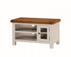Henley Small TV Unit in Painted Oak