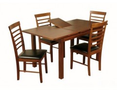 Hilton Acacia Hampton Extending Dining Set