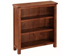 Hilton Acacia Low Bookcase