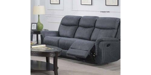 Plaza 3 Seater Recliner Sofa - Multiple Colours Available