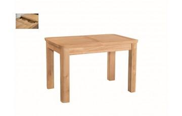 Tamworth Solid Oak / Oak Veneer 4' extension dining table (Extended)