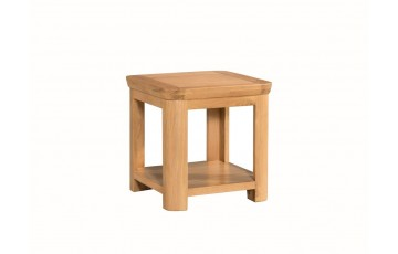 Tamworth Solid Oak / Oak Veneer Lamp Table