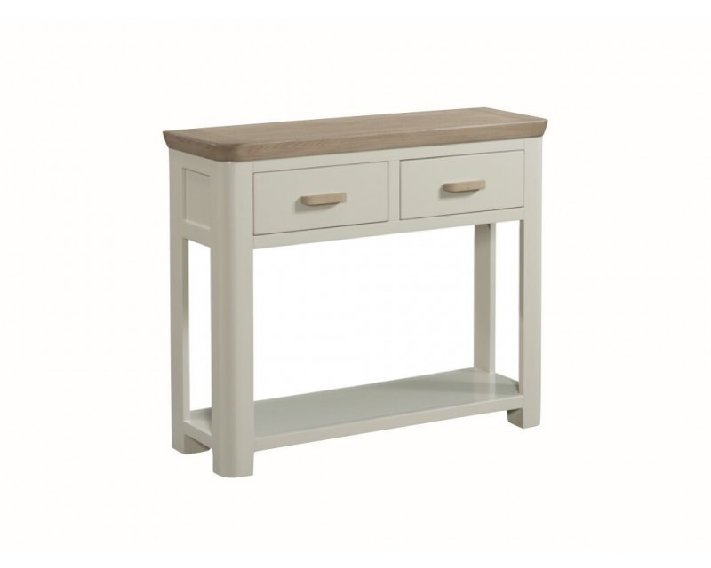 Tamworth Painted Solid Oak / Oak Veneer Large Console