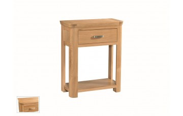 Tamworth Solid Oak / Oak Veneer Small Console