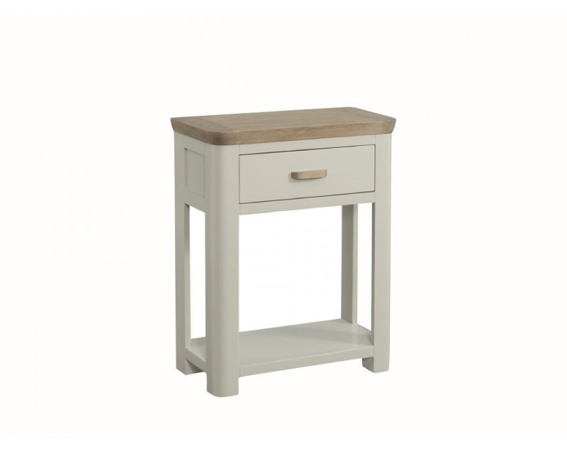 Tamworth Painted Solid Oak / Oak Veneer Small Console