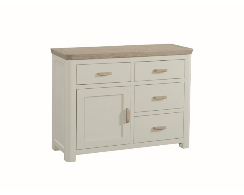 Tamworth Painted Solid Oak / Oak Veneer Small Sideboard