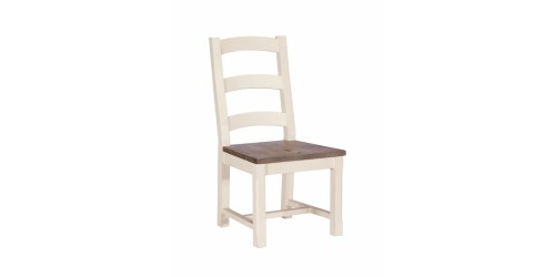 Canterbury Painted White Wooden Dining Chair