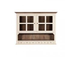 Canterbury Painted White Wide Dresser Top - Solid Reclaimed Timber