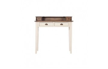 Canterbury Painted White Writing Bureau - Solid Reclaimed Wood