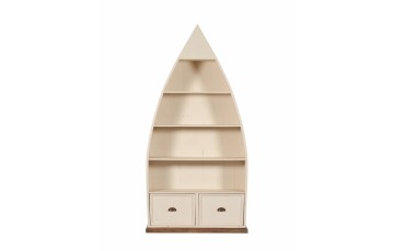 Canterbury Office Painted Dinghy Bookcase - Multiple Colour Choices