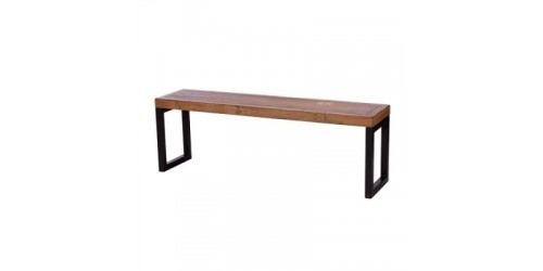 Nassau 140cm Bench  in Solid Reclaimed Wood