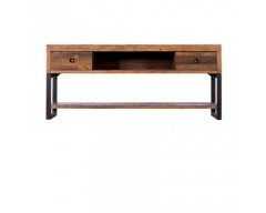 Nassau Media / TV Unit in Solid Reclaimed Wood