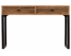 Nassau Console Table in Solid Reclaimed Wood
