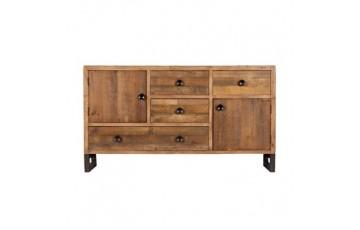 Nassau Wide Sideboard in Solid Reclaimed Wood