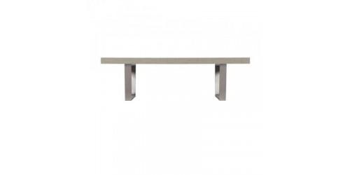 Paris Steel / Wooden Coffee Table