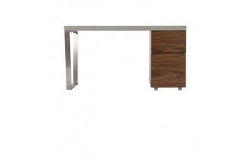 Paris Steel / Wooden Office Desk