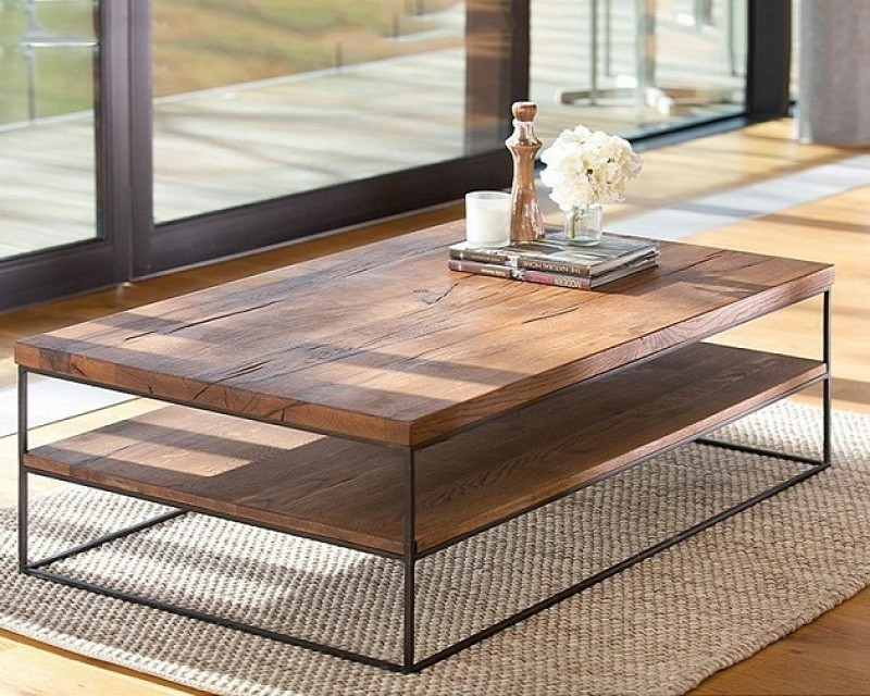 Saka Coffee Table in Oak