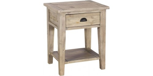 Vienna Reclaimed Wood Lamp Table