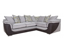 Dillon Pillowback Corner Sofa