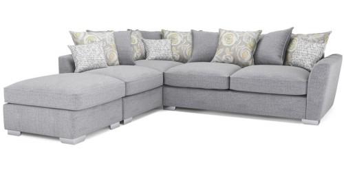 Fantasia Pillowback Corner Sofa