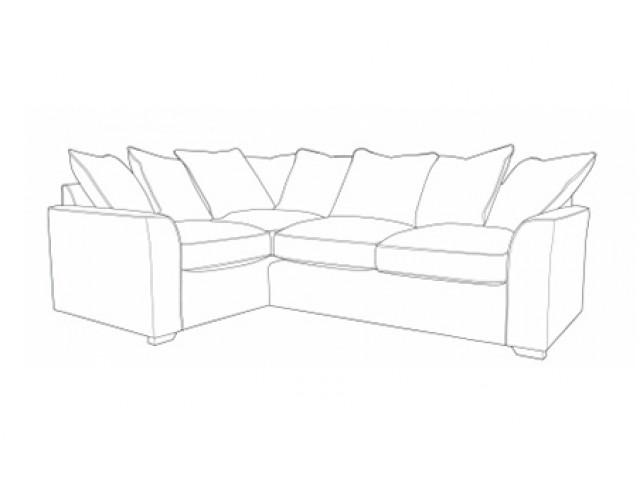 Louis Pillowback Corner Sofa