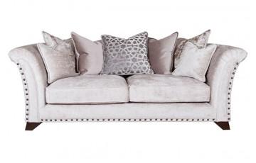 Buoyant Upholstery Vesper Pillowback 3 Seater Sofa