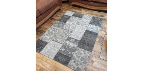 Manhattan Patchwork Rug - CLEARANCE
