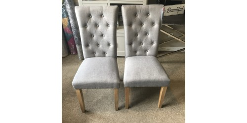 Pair Of Lilly Dining Chairs - CLEARANCE