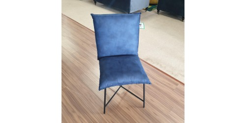 Lana Dining Chair Blue - CLEARANCE