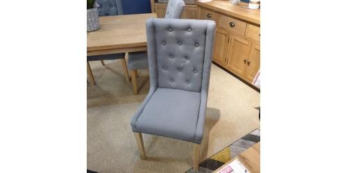 Mila Grey Dining Chair - CLEARANCE