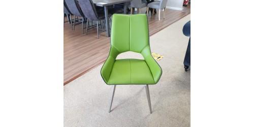 Sarah Swivel Chair Green - CLEARANCE