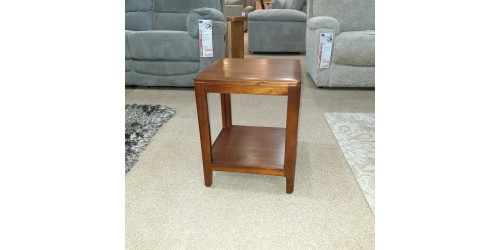 Dunmore Acacia End Table - CLEARANCE