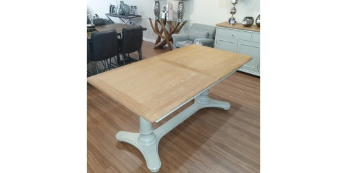 Mila 1.6m Extending Dining Table - CLEARANCE