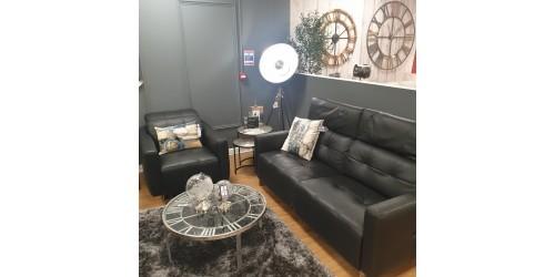 Davoli 3 Seater Sofa & Armchair Set - CLEARANCE