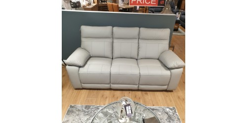 Paciano Leather 3 Seater Sofa - CLEARANCE