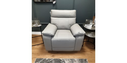 Paciano Leather Power Recliner Armchair - CLEARANCE