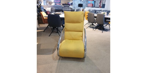 Space Rocker Chair Yellow - CLEARANCE
