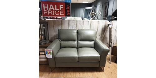 Willow 2 Seater Leather Sofa - CLEARANCE