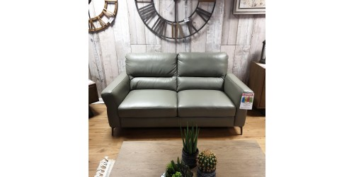 Willow 3 Seater Leather Sofa - CLEARANCE