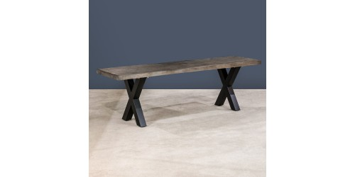 New Orleans 160cm Reclaimed Wood Dining Bench