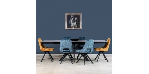Vito 160cm - 240cm Extending Dining Table - 3 Colour Options