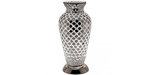 Mosaic Vase Lamp - Mirror