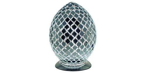 Mosaic Egg Lamp - Mirror