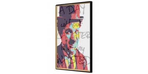 Charlie Chaplin Kinetic Wall Art