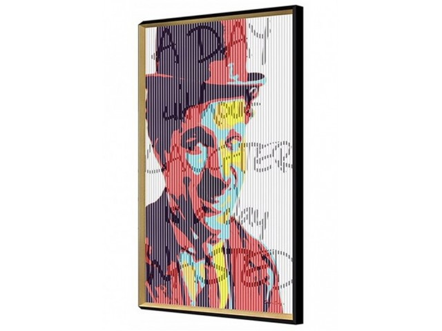 Charlie Chaplin Kinetic Wall Art