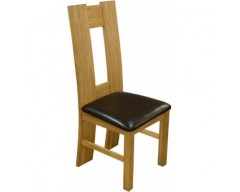 Oak Dining Chair H back style