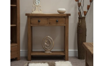 Chicago Oak Hall Table