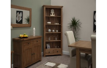 Chicago Oak Large Bookcase